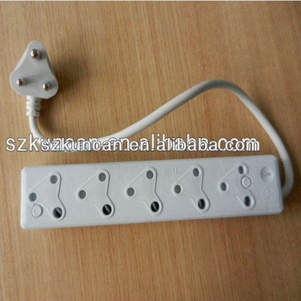 250V 16A South African Type electronics socket vga desktop power socket