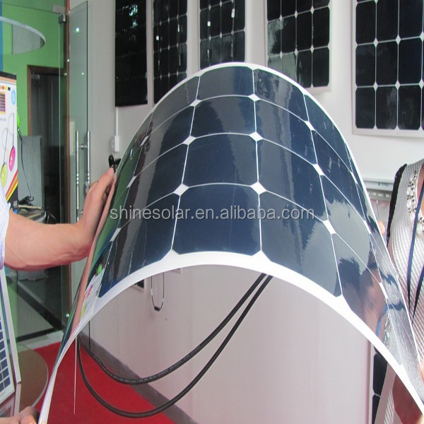 amorphous silicon thin film solar panels 80w