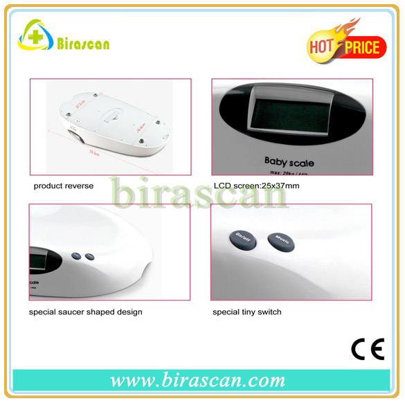 2014 hot sales!Eco-friendly+High Quality+Useful+Bluetooth+Digital Baby Scale, Electronic Baby Scale