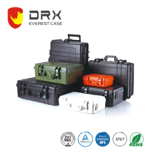 IP67 Rugged Waterproof Shockproof Dustproof Medical Plastic Equipment Case With Wheels