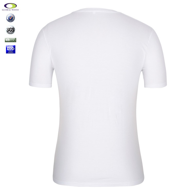 Blank Wholesale Plain White 100 Cotton T Shirts For Men