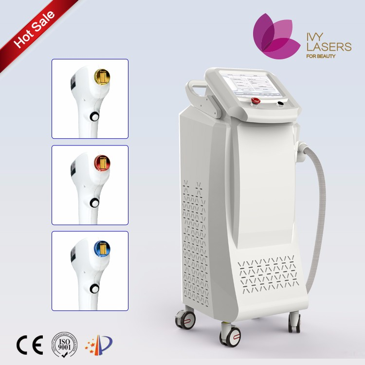 Multifunctional 808nm diode laser hair removal machines for rent