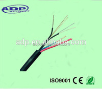 24core outdoor Fiber Cable with Power
