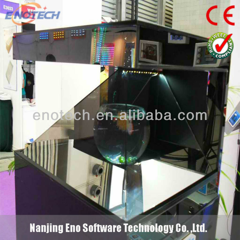 3D hologram box/holographic showcasefor advertising,event,exibition