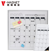 magnetic key holder memo board
