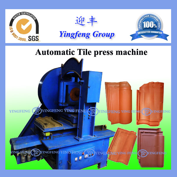 Hot sale in East Timor! Yingfeng clay tile manufacturing machine