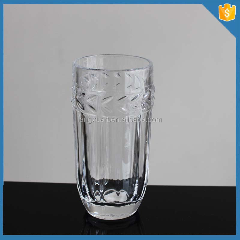 LXHY-T013 DOF 350ml 12oz drinking glass tumbler with round bottom