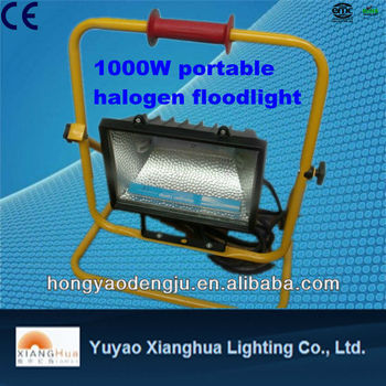 400w 500w Portable halogen flood working floodlight