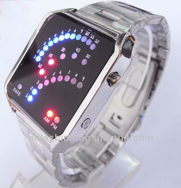 2017LED watch Men Watch Paypal watches