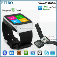 2016 New Pedometer TF SIM FITBO android smart watch