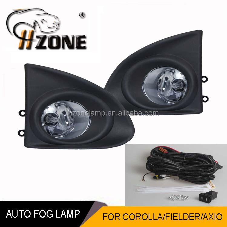 daytime car fog lamp for COROLLA 2011-ON (JAPAN TYPE) FIELDER /AX10 2013 with DOT SAE certification