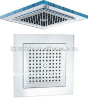 ABS 9'' square plastic rain shower head