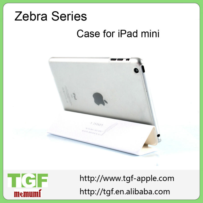 "New 7.9 inch Slim Smart Case Cover 7.9"" PU Leather Magnetic Case with Stand sleep/ wake function for Apple iPad Mini"