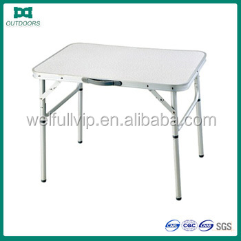 60*45*25/60 outdoor square portable alum camping <strong>table</strong>