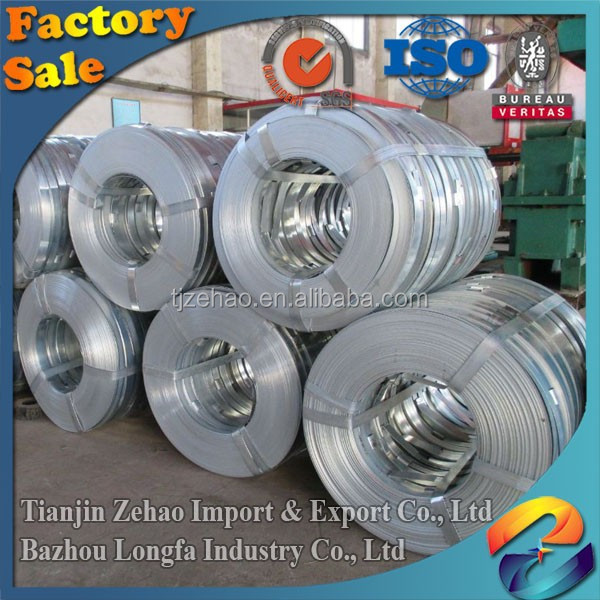 Black Annealed Cold Rolled 03.MM-2MM in China Prime Quality zinc galvanized steel strip for Roofing Sheets