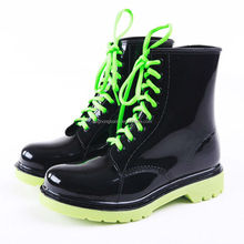 solid color waterproof women lady shoe