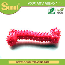 Factory wholesale natural silicone dog toy chew bone