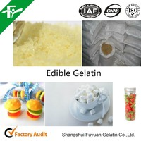 Edible vegetarian gelatin