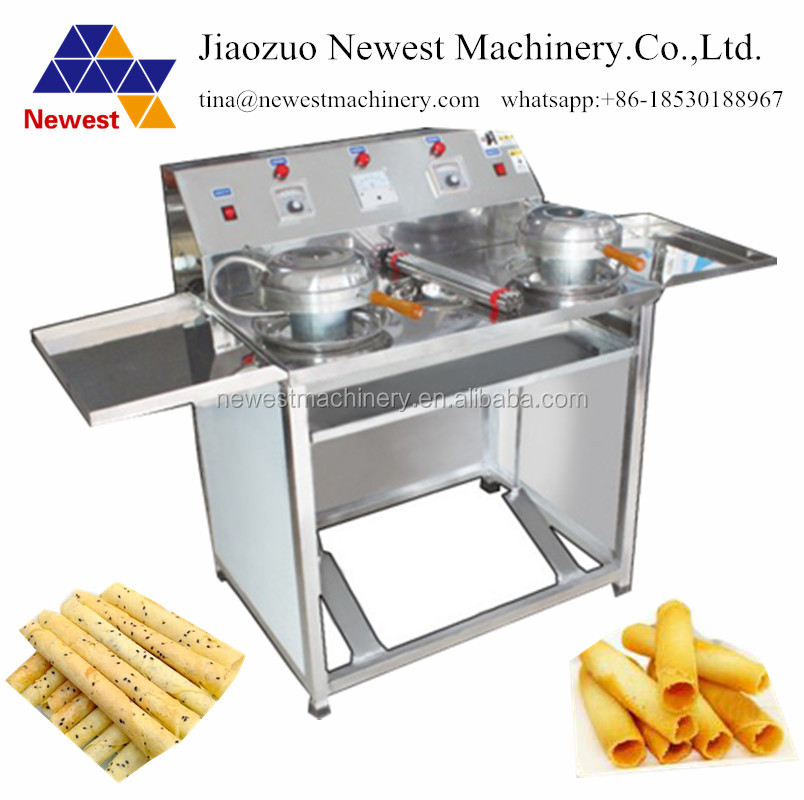 Each hour 250 pcs capacity egg waffle maker /egg roll toaster /ripple egg roll making machine