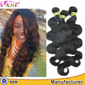 XBL Hair Cuticle same direction cut from young girl hair body wave one donor raw hair