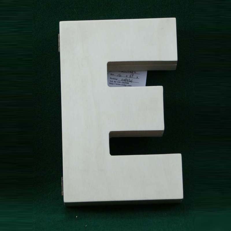 Handmade great quality laser cut wood letters