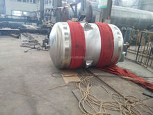Cylindrical ss 304 stainless steel chemical storage tank