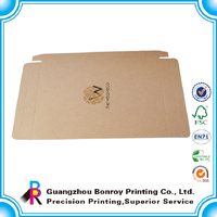 Top quality brown flat wholesale kraft soap boxes