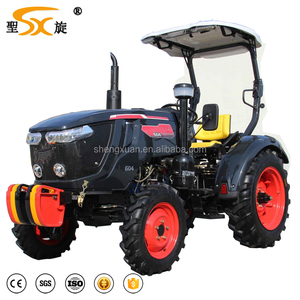 china 604 cheap farm tractor with cabin for sales