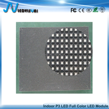 P3 Indoor SMD RGB Visual LED Resolution 64*64dots Full Color Video Display Module