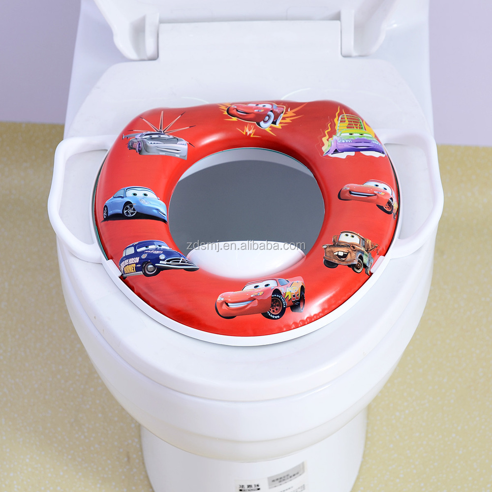 12 inch EN71-73 EU standard PVC material Memory Foam super soft training baby potty toilet seat