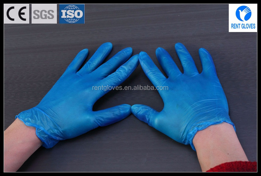 Discount cheap products disposable Food service Multifunction examination vinyl gloves Alibaba manufacturer