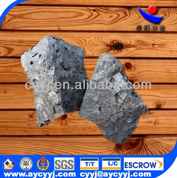 Alibaba hot sale ferro alloy products Silicon / Si 58- 60% calcium /Ca 30-34% alloy China producer