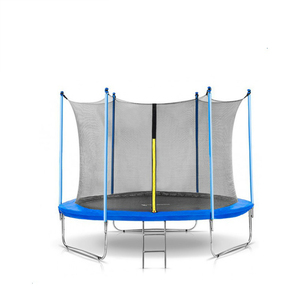 10ft best trampoline brands for kids with safety net and bungee pad