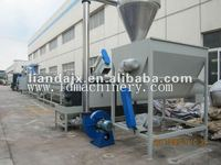 waste PP/PE films recycling machine