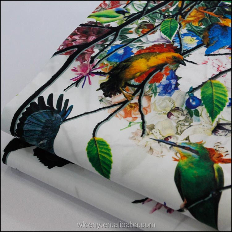 Various Digital Printing in Cotton Fabric with Customized Pattern Floral