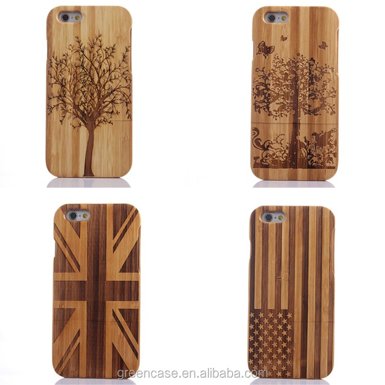 Bamboo with Tree/Butterfly/Stars and Stripes/Union Flag Pattern Cell Phone Case for Iphone6/6s