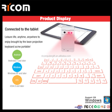 bluetooth virtual keyboard,Infrared Projected bluetooth keyboard,Lazer Virtual keyboard mouse--VK-001--Shenzhen Ricom