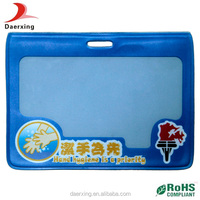 Colorful customized fashion,clear PVC card bag in china market