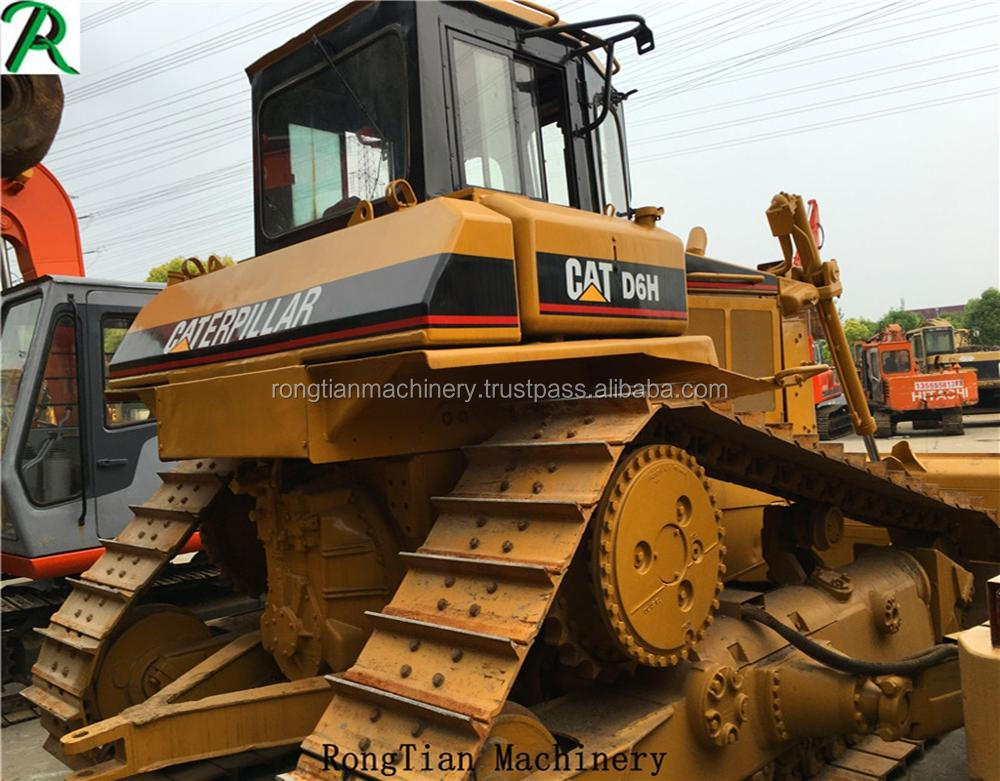 Good quality used cat bulldozer D6H for sale/ cat dozer with low price