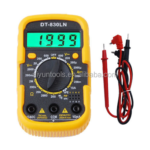 Hot Selling High Quality Low Price Standard Digital Multimeter