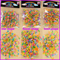 Latest design fun loops cheap rubber loom bands