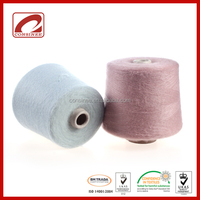 Machine knitting blended merino mohair yarn free samples available