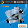 Meat Slicer Machine bade diameter 250 mm Portable Meat Slicer is Italy blade Meat Slicer for CE (SY-MS250SN SUNRRY)
