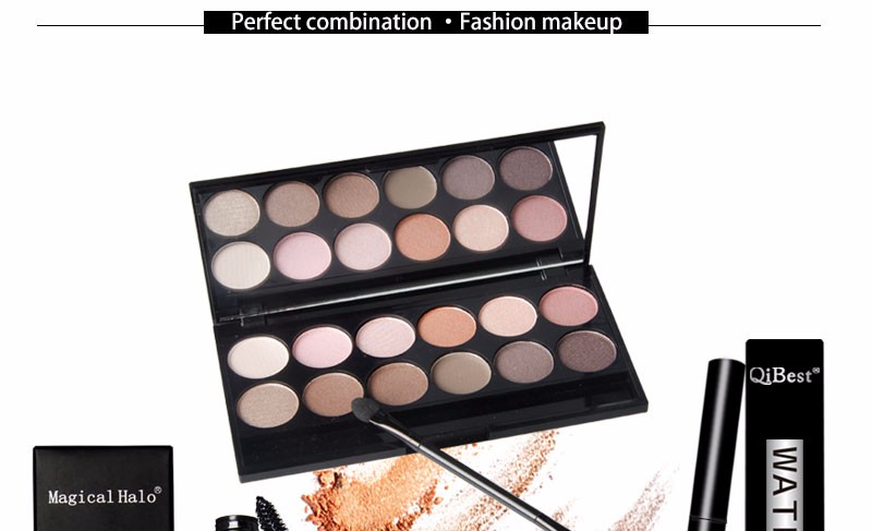 LX2287 Cheap Price Synthetic Makeup Set eyes makeup set