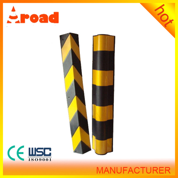 with high reflector rubber garage Corner guard wall protector
