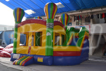 inflatable balloon bouncy castle bounce house with slide combo