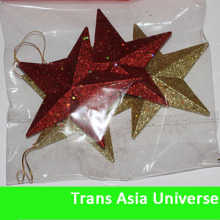 Top Quality Personalized decorative plastic stars small