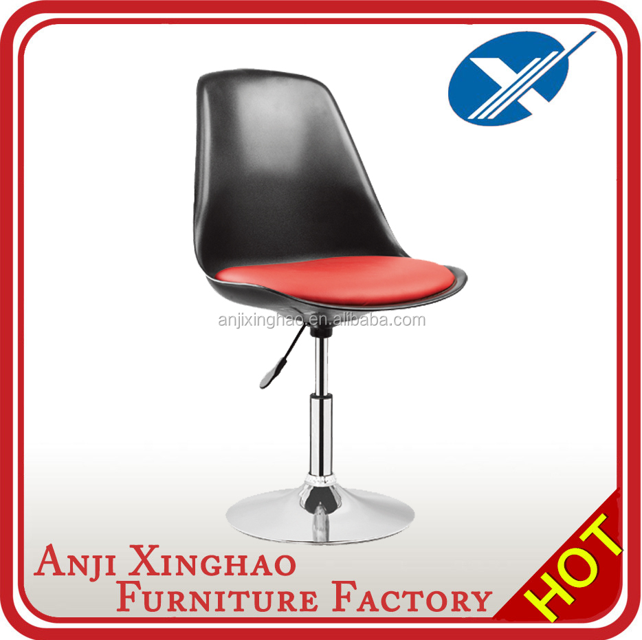 Xinghao Newstyle Adjustable Swivel PP Plastic Bar Stool Chair