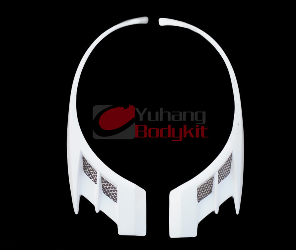 VC Voltex Cyber Style Glass Fiber Front Over Fender Wing For FRP Evolution EVO 8 9 Car Racing Bodykit