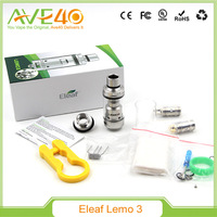 Best selling newest e cigarette Eleaf Lemo 3 Tank , Eleaf Lemo 3 Atomizer with Huge Vapor